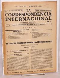 image of La correspondencia internacional; revista semanal, año V, num. 54, 19 Dicbre. 1933