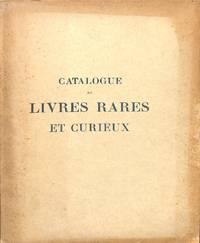 Vente 14-16 Mai 1925 : Bibliothèque De M. M.B*** ; Livres Rares et  Curieux, anciens et Modernes.