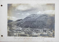 Vernacular Photograph Album containing Views of Missoula, Montana, and Surroundings including Native American Subjects, circa 1897