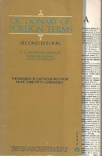 Dictionary of Foreign Terms