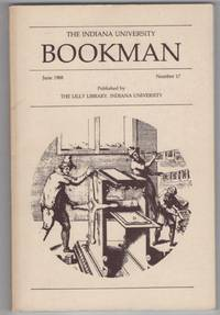 The Indiana University Bookman:  Number 17