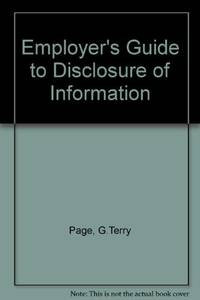 Employer's Guide to Disclosure of Information