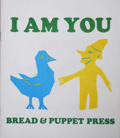 Glover, VT: Bread & Puppet Press, 2004. Second printing. Paperback. Very Good +. 7