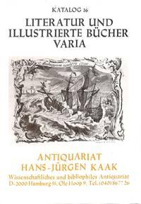 Catalogue 16/n.d. : Litteratur und illustrierte Bücher, Varia.