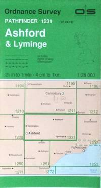 Ashford & Lyminge Pathfinder map sheet 1231