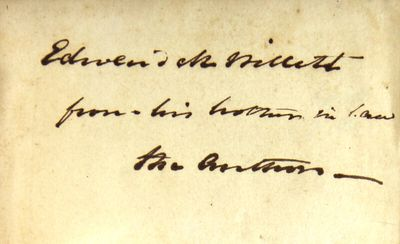 New York: Harper & Bros, 1841. First edition, 2 volumes, 8vo, pp. , viii, 424; vii-, -474; folding m...