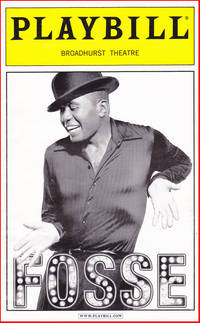 Fosse, Playbill from the Broadway Show
