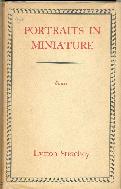 London: Chatto & Windus, 1931. Gilt cloth. First edition. A few faint dust marks to cloth, otherwise...