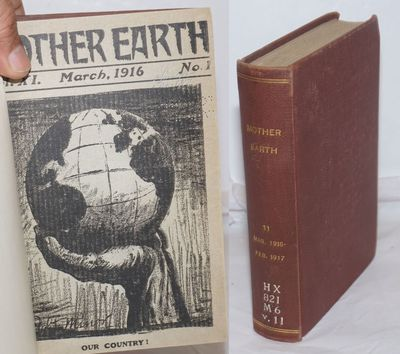 New York: Mother Earth Pub. Association, 1917. Twelve issues bound in library buckram, with the cove...