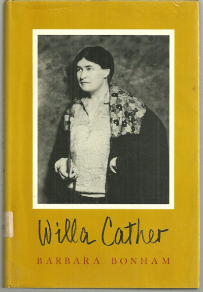 WILLA CATHER, Bonham, Barbara
