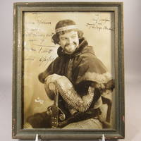 image of Autographed photograph of Lawrence Tibbett