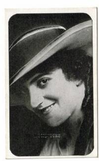 image of An Original 1917 Kromo Gravure Photo Card of the Movie Star Helen Holmes