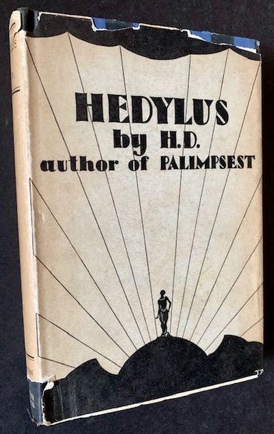 Oxford and New York: Basil Blackwell/Houghton Mifflin, 1928. Boards. Near Fine/Very Good -. The 1928...