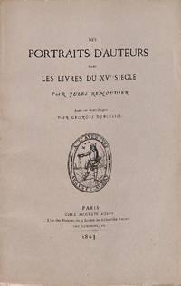 Des Portraits D'auteurs Dans Les Livres Du XVe Siècle.