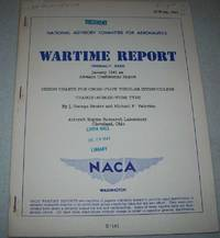 Design Charts for Cross Flow Tubular Intercoolers Charge Across Tube Type (NACA Wartime Report)