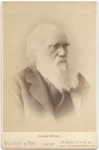 Cabinet Card Photograph of Charles Darwin
