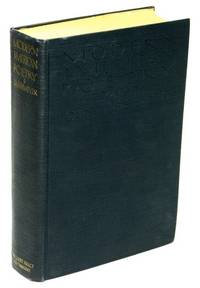 Modern American Poetry  A Critical Anthology, Third Revised Edition by UNTERMEYER, Louis (editor) - 1925