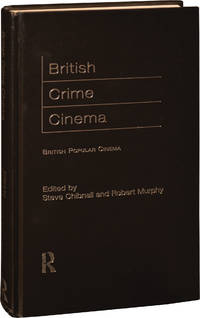 image of British Crime Cinema (First Edition, hardcover)