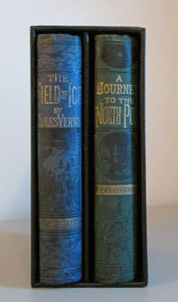 A Journey to the North Pole and The Field of Ice 2 Volumes of  The Adventures of Captain Hatteras