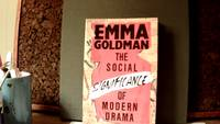 THE SOCIAL SIGNIFICANCE OF MODERN DRAMA by  Emma GOLDMAN - Paperback - First Applause Printing - 1987 - from Horizon Books (SKU: 202910)