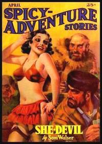 image of SPICY ADVENTURE STORIES - Volume 4, number 1 - April 1936