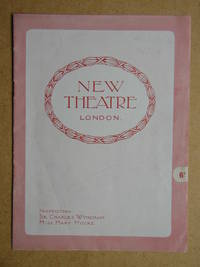 Grumpy By Horace Hodges & T. Wigney Percyval. Theatre Programme.