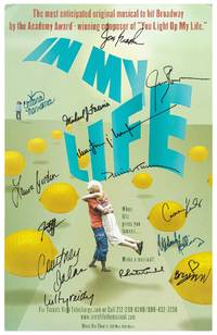 "(Theatrical Poster): In My Life: The Most Anticipated Original Musical to Hit Broadway by the Academy Award-winning Composer of ""You Light Up My Life"""