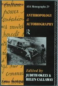 ANTHROPOLOGY & AUTOBIOGRAPHY.