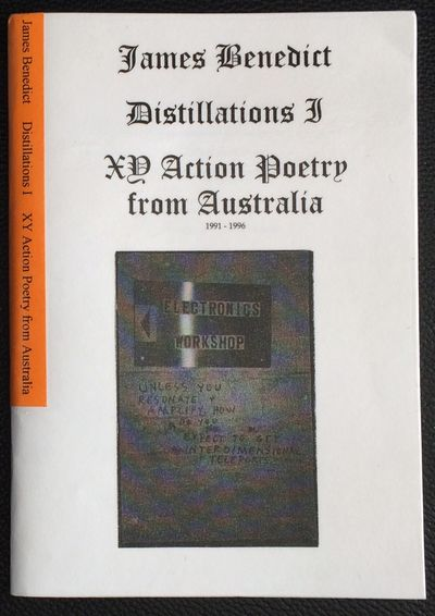 Aarhus: X Press, 2001. 72p.., 5.5x8.25 inches, staplebound chapbook; amateur lamination of the cover...