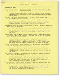 image of Selected Bibliography