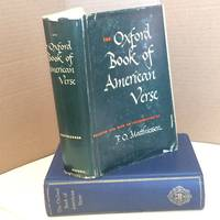image of The Oxford Book of American Verse