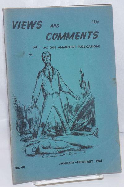 New York: Libertarian League, 1961. 29p., 5.5x8.5 inch stapled booklet format; minor wear and handli...