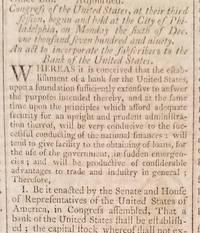 Dunlap's American Daily Advertiser.  February 26, 1791.