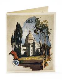 Color Dinner Menu/Postcard From the S.S. Admiral Dewey, Operated by the Pacific Steamship Company / The Admiral Line