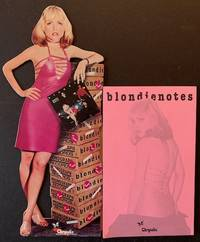 "Blondienotes -- With ""Plastic Letters"" Display Cut-Out"