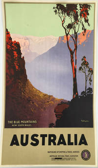 The Blue Mountains  New South Wales.  Australia.  [Travel poster]
