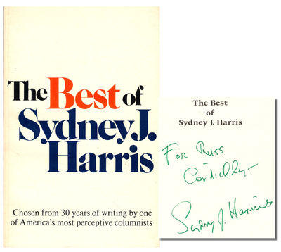 Boston: Houghton Mifflin, 1973. Paperback. Very good. Eighth Printing. 352pp. Wraps tanned and light...