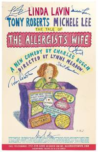 (Theatrical Poster): The Tale of the Allergist's Wife. A New Comedy by Charles Busch. Directed by Lynne Meadow