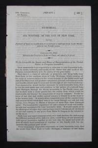 Transcontinental Railroad] MEMORIAL OF ASA WHITNEY, OF THE CITY OF NEW YORK, PRAYING A GRANT OF LAND, TO ENABLE HIM TO CONSTRUCT A RAILROAD FROM LAKE MICHIGAN TO THE PACIFIC OCEAN, JANUARY 28, 1845