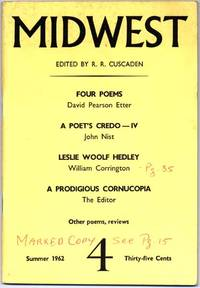 Midwest: A Magazine of Poetry and Opinion (Summer 1962, Number 4)