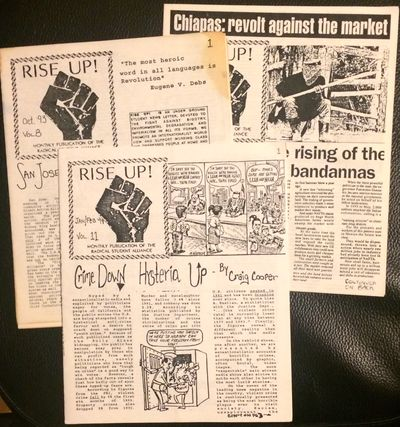 Arcata, CA: Radical Student Alliance, 1994. Two issues of the staplebound newsletter, 7x8.5 inches, ...
