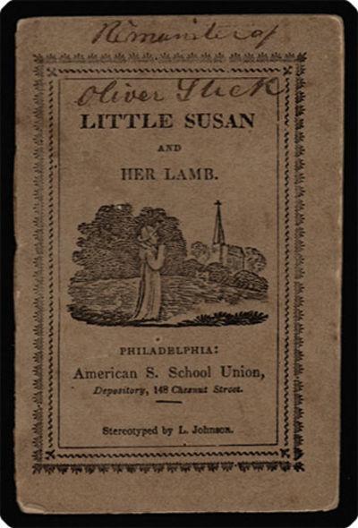 Philadelphia: American Sunday-School Union, . 32mo (10.5 cm, 4.125