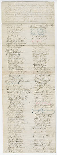 "161 Young Men of Providence, R.I. Found ""Loyal League"" Pledged to Support the Union"