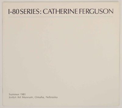 Omaha, NE: Joslyn Art Museum, 1981. First edition. Oblong softcover. 4 pages. Exhibition catalog for...