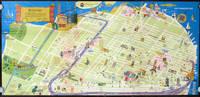 San Francisco tourmap 1975.