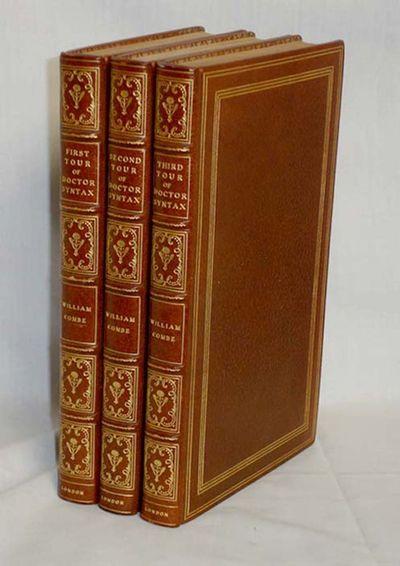 London: Nattali and Bond, 1855. Tall Octavo. Three volumes beautifully illustrated by Rowlandson wit...
