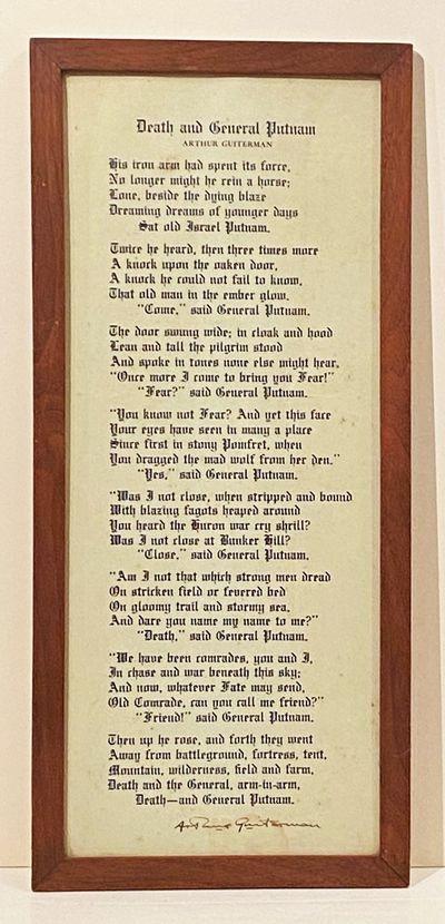 Death and General Putnam (SIGNED...