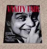 VANITY FAIR MAGAZINE ISSUE: ITALO CALVINO COVER APPEARANCE