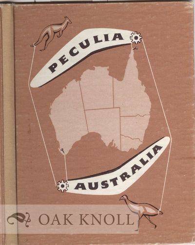 Adelaide, Australia: Griffin Press, n.d.. boards, glassine wrapper. Typophiles. 12mo. boards, glassi...