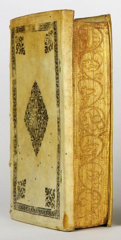 Frankfurt am Main: , 1595. 8vo (155 x 93 mm). pp., , 560 pp. Woodcut title ornament, woodcut initial...